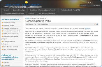 Cliquez pour visiter la page Tout savoir sur la VMC Double flux.