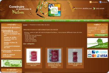 Cliquez pour visiter la page boutique ecologique en ligne.
