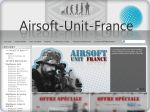 La vignette du site Airsoft unit france