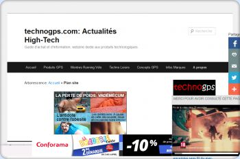 Cliquez pour visiter la page Guide d'achat et Webzine techno GPS.