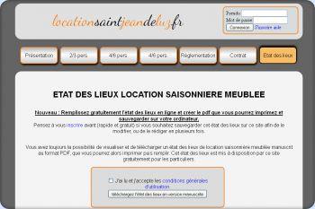 Cliquez pour visiter la page Etat des lieux location saisonnière.