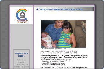 Cliquez pour visiter la page Garde d'enfants à domicile.
