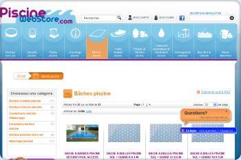 Cliquez pour visiter la page bache piscine.