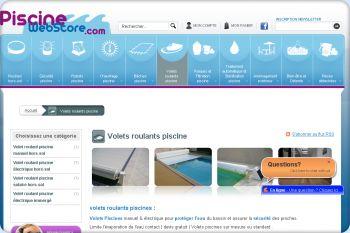 Cliquez pour visiter la page volet roulant piscine.