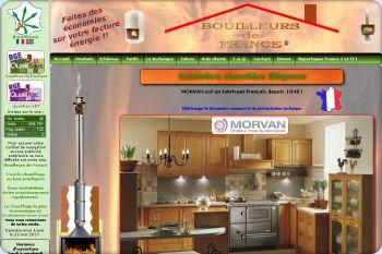 Cliquez pour visiter la page Cuisnière bouilleur hydro Elégance Morvan.