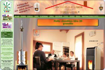 Cliquez pour visiter la page Poêle chaudière bouilleur à granulés Idro 29 par Bouilleurs de France.