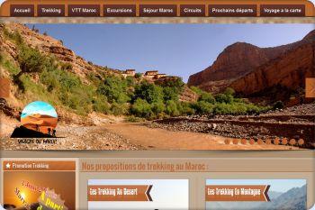 Cliquez pour visiter la page Trekking au Maroc.