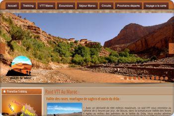Cliquez pour visiter la page Raid VTT Maroc.