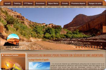 Cliquez pour visiter la page Circuit désert Maroc.