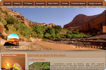 Cliquez pour visiter la page Excursion Marrakech.