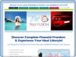 La vignette du site Talk fusion Affaire commercial à domicile en marketing
