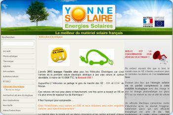 Cliquez pour visiter la page Nos bornes de charge pour véhicules électrique.