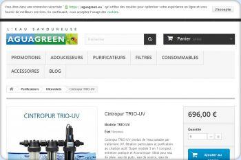 Cliquez pour visiter la page CINTROPUR-TRIO-UV.