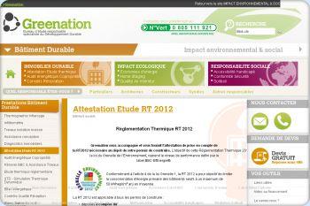 Cliquez pour visiter la page Etude thermique RT2012.
