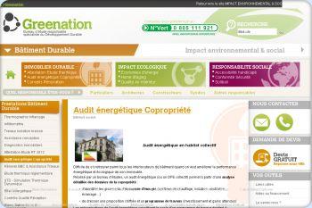 Cliquez pour visiter la page Audit énergétique Copropriété.