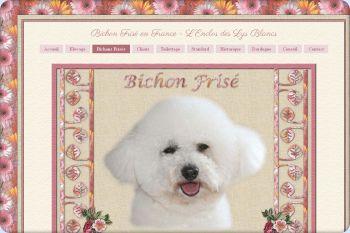 Cliquez pour visiter la page Bichon Frisé .
