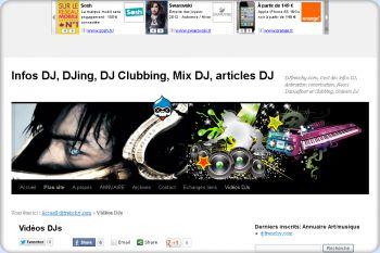 Cliquez pour visiter la page Vidéos de DJ, du djing, Clubbing .