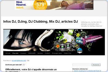 Cliquez pour visiter la page Le monde du Djing et des DJ.