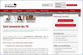 Cliquez pour visiter la page Suivi des TD à Paris Panthéon Assas.