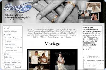Cliquez pour visiter la page RASENGRAPHE photographie de mariage.