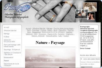 Cliquez pour visiter la page Photographie de paysage et de la nature avec RASENGRAPHE.