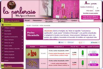 Cliquez pour visiter la page Perles Shamballa.