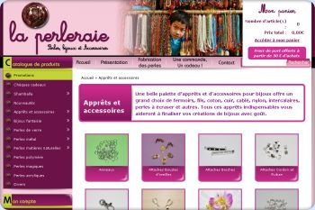 Cliquez pour visiter la page Apprêts et accessoires.