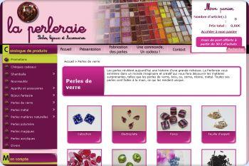 Cliquez pour visiter la page Perles de verre.