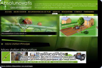Cliquez pour visiter la page le principe de la micro station.