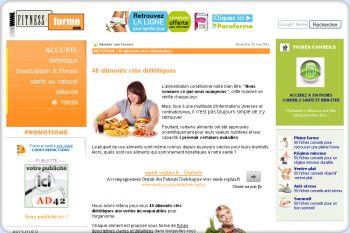 Cliquez pour visiter la page 48 aliments diététiques clés .