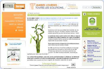 Cliquez pour visiter la page Santé au naturel.
