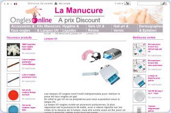 Cliquez pour visiter la page Lampes uv ongles.