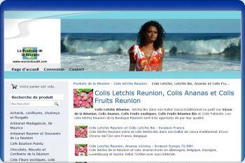 Cliquez pour visiter la page Colis letchis Réunion Bio.