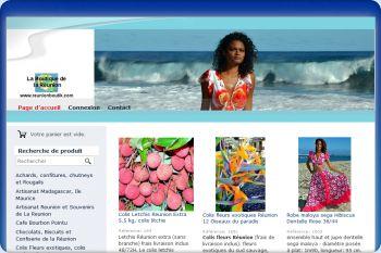 Cliquez pour visiter la page Produits de la Réunion, reunion boutik.