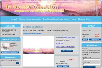 Cliquez pour visiter la page Presentation de la boutique la-bonne-occasion.