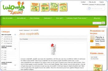 Cliquez pour visiter la page Les jeux coopératifs ludomus.
