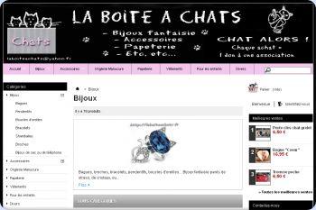 Cliquez pour visiter la page Bijoux fantaisie chats ou Hello Kitty.