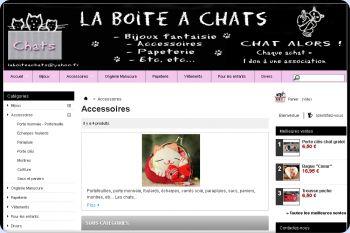 Cliquez pour visiter la page Les accessoires chats.