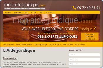 Cliquez pour visiter la page Aide juridique.