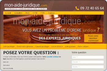 Cliquez pour visiter la page Question juridique.