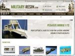 La vignette du site Boutique de maquettes militaires : Military-Resin