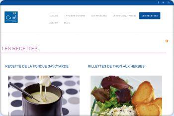 Cliquez pour visiter la page Les recettes de Mirabelle et Olga.