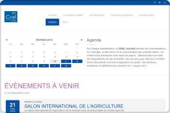 Cliquez pour visiter la page Agenda 2015.