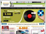 La vignette du site Pressage de cd et dvd