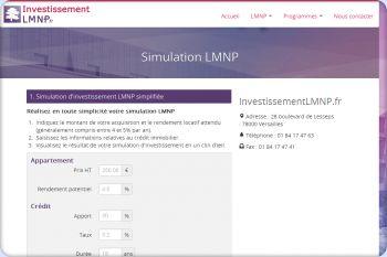 Cliquez pour visiter la page Simulation LMNP.
