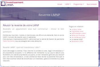 Cliquez pour visiter la page Revente LMNP.