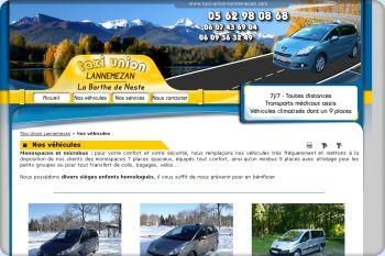 Cliquez pour visiter la page les véhicules Taxi Union.