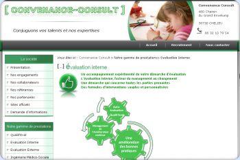 Cliquez pour visiter la page évaluation interne.