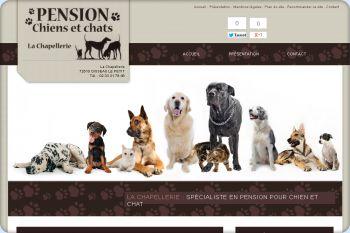 Cliquez pour visiter la page Pension chien Sarthe.