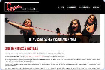 Cliquez pour visiter la page Fitness Bastille.